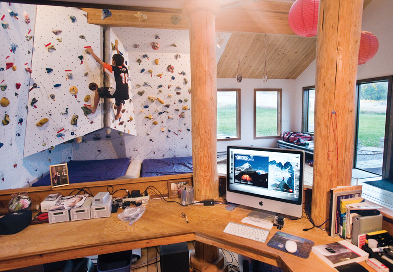 Home Rock Climbing Wall Design home climbing wall what it looks like during use Climb On