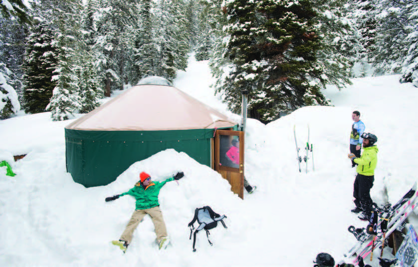 Winter Camping, Warm and Easy