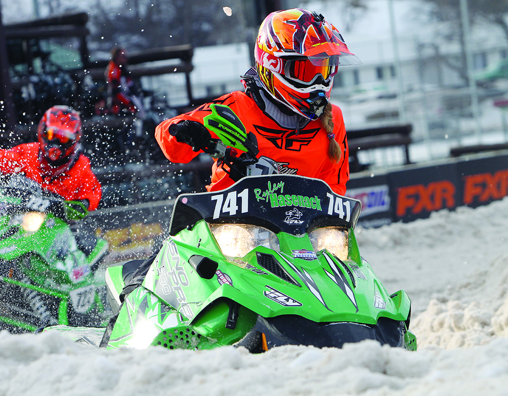Thirteen-year-old Hoback Junction resident Ryley Hasenack races on the International Series of Champions circuit. Photograph by Price Chambers
