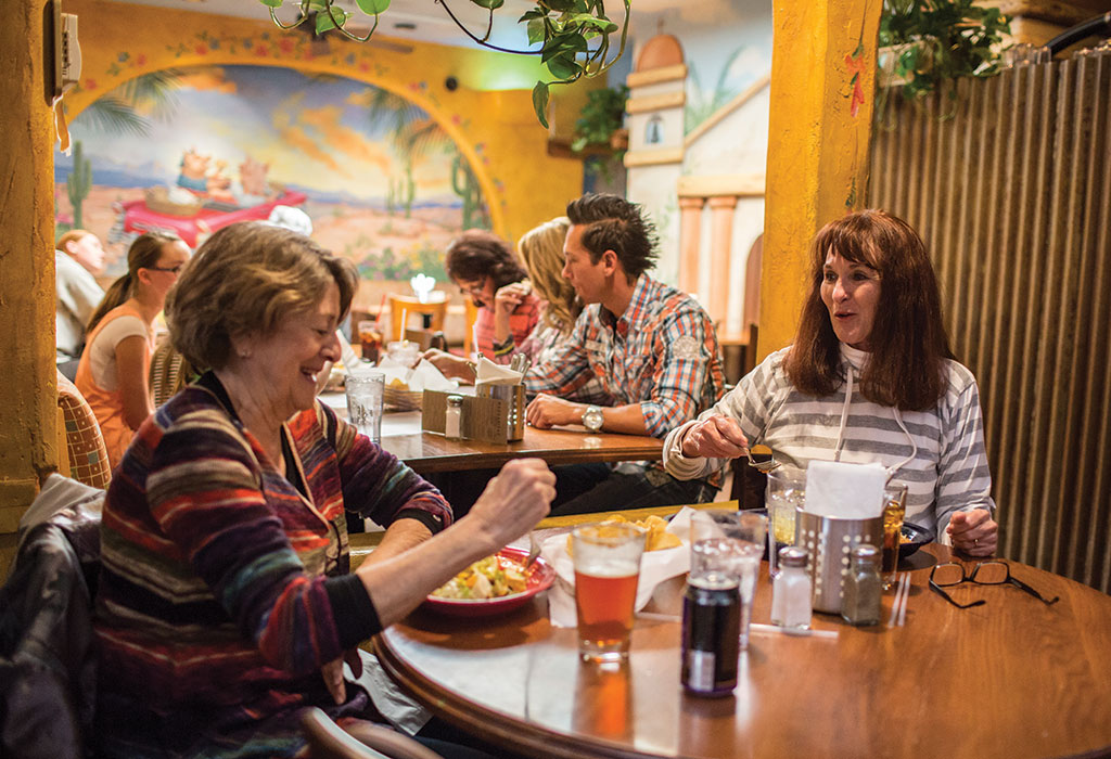 Merry Piglets is one of the valley's most popular, and oldest, Mexican restaurants.