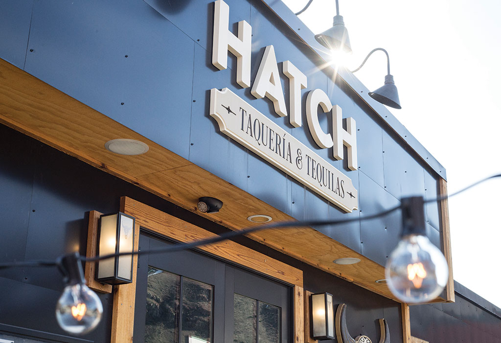 Hatch Taquería & Tequilas offers six varieties of tacos, five house-made salsas, and a menu of margaritas.