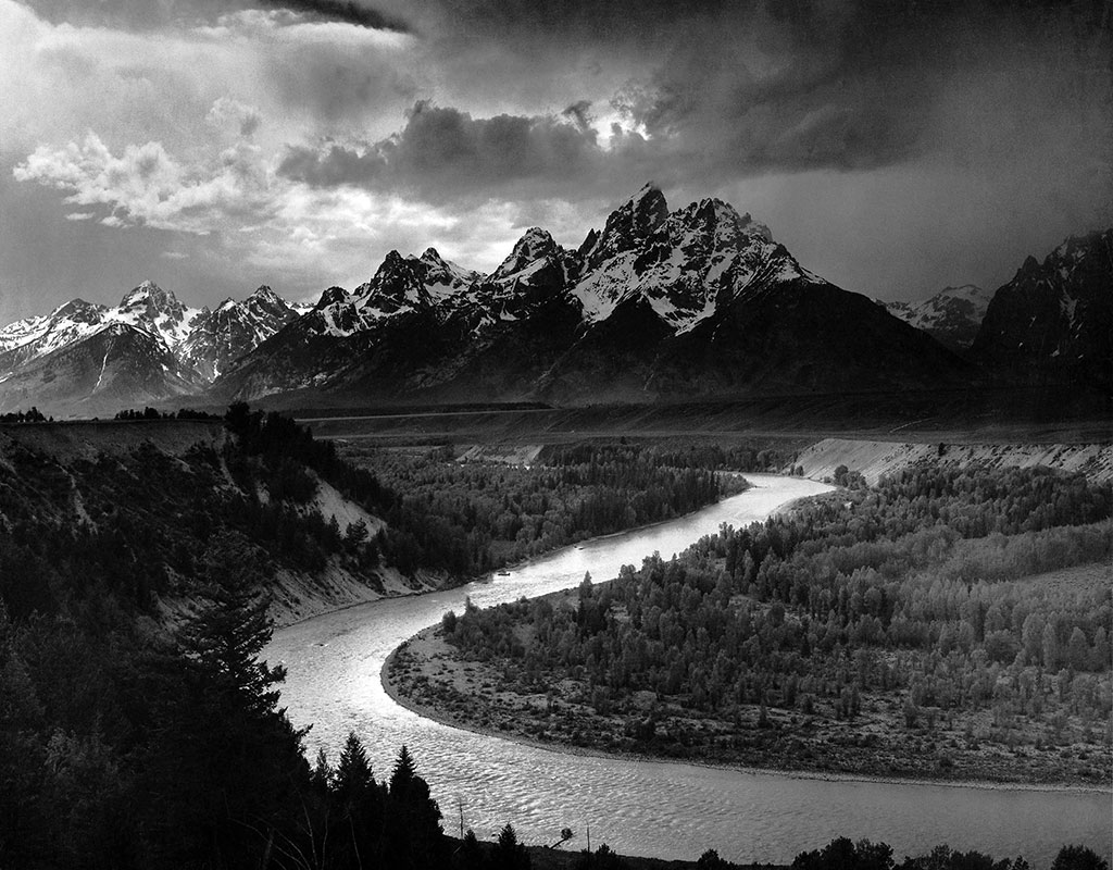 The Tetons and the Snake River, Grand Teton National Park