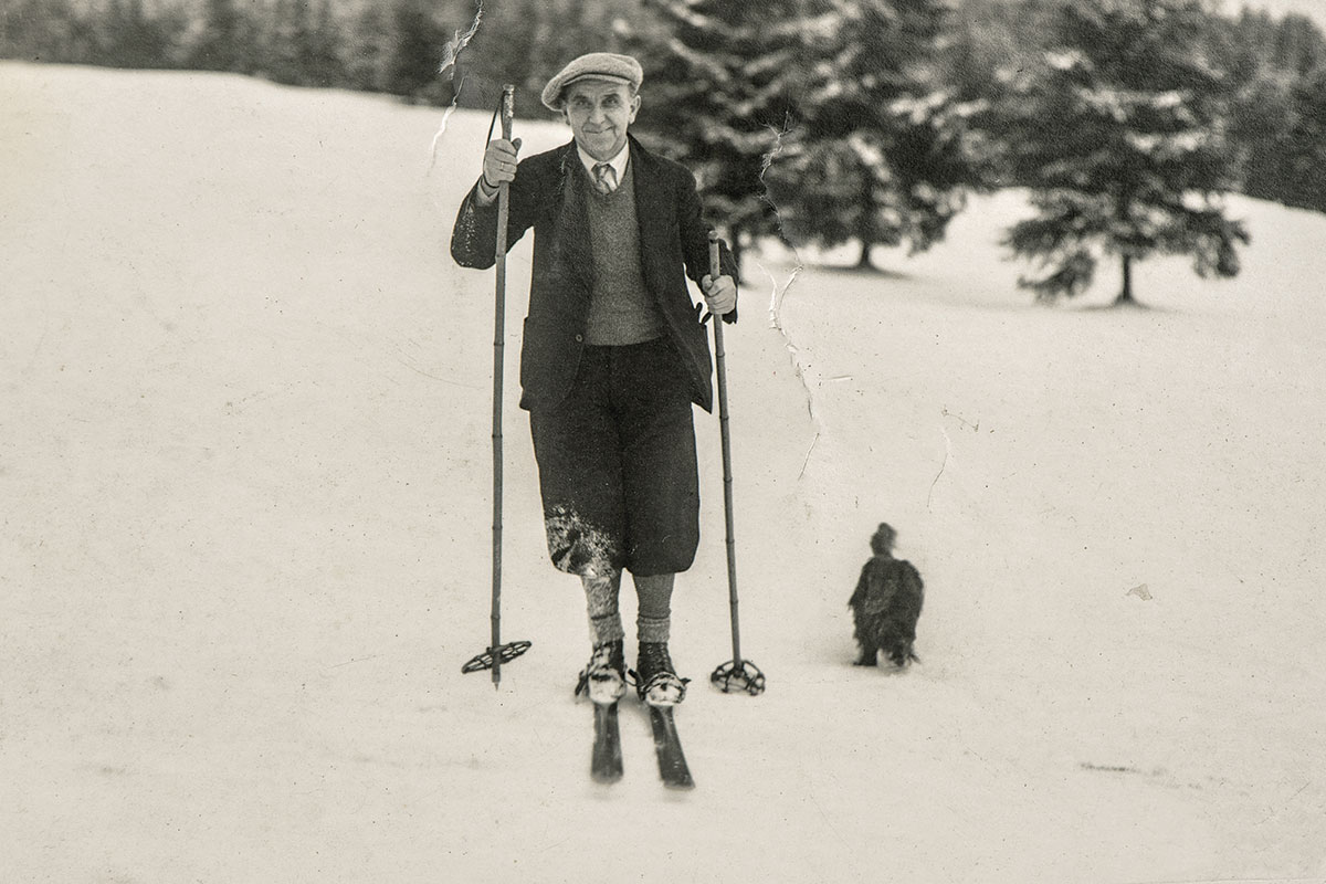 Ski gear one hundred years ago looked, and performed, very different from the ski and snowboard gear available today.