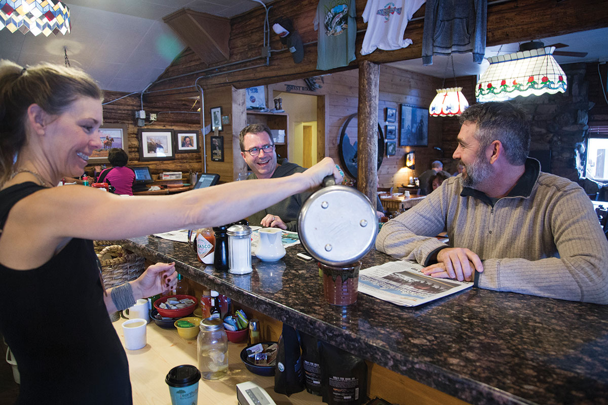 "The James Beard Foundation recognized Nora's Fish Creek Inn as one of ""America's Classics,"" and Guy Fieri featured it on Diners, Drive-Ins and Dives. Breakfast here can be filling enough—the huevos rancheros are huge—that you might not be hungry even by the time après-ski rolls around."